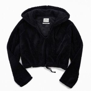 Urban Outfitters cozy super soft faux fur hoodie